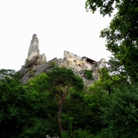 The Castle Ruins of Dürnstein, Austria